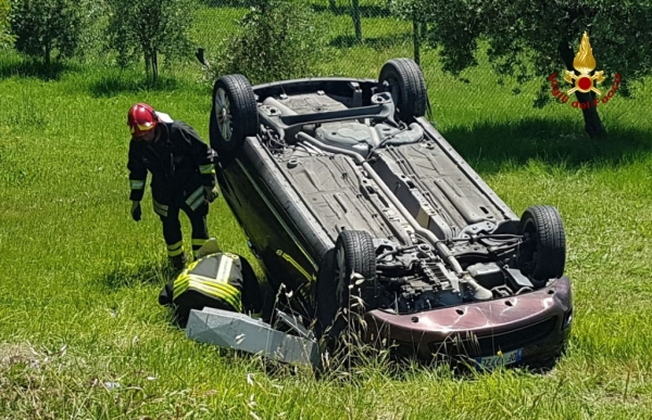 BELVEDERE OSTRENSE - Incidente stradale